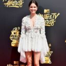 Shelley Hennig – 2017 MTV Movie and TV Awards in Los Angeles - 454 x 665