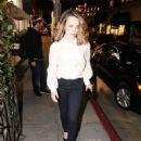 Rachel McAdams – Arrives at Madeo in Los Angeles - 454 x 681