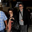 Tim Burton and Helena Bonham Carter in LA