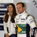 Rubens Barrichello and Silvana Barrichello - 454 x 634