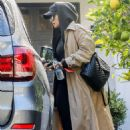 Rita Ora in Long Coat – Out in Beverly Hills