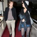 Paris Hilton With Model Boyfriend Alex Vaggo In Hollywood 2007-11-26 - 454 x 621