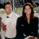 Jami Gertz and Robert Downey Jr.