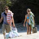 Reese Witherspoon And Jake Gyllenhaal At The Beach In Malibu, CA - May 19 - 2008