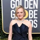 Elisabeth Moss At The 76th Annual Golden Globes  - Arrivals (2019) - 403 x 600