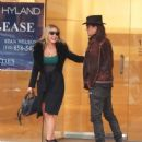 Nikki Lund and Richie Sambora check out their new flagship store 'Nikki Rich' opening in March 15 in Beverly Hill, CA on February 2, 2015 - 454 x 596