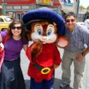 Universal Studios Hollywood, apparently you can hug Fievel here!!!