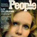 Liv Ullmann - People Magazine Cover [United States] (27 January 1975)