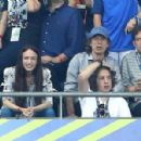 Sir Mick Jagger and his lookalike son Lucas join the rocker's other children Lizzie and James as they watch Portugal claim victory in EURO 2016 Final - 454 x 298