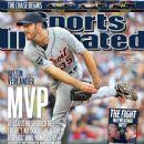 Justin Verlander - Sports Illustrated Magazine Cover [United States] (17 September 2011)