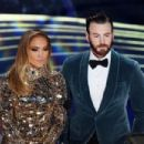 Jennifer Lopez and Chris Evans At The 91st Annual Academy Awards - Show - 454 x 303
