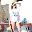 Behati Prinsloo in Bikini on vacations in Los Cabos