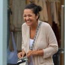 Paula Garces was spotted out at The Grove in Hollywood, California on April 4, 2017