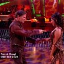 Cheryl Burke and Tom DeLay