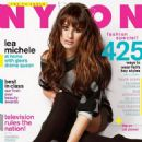 Lea Michele Nylon Magazine September 2012 - 454 x 542
