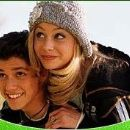 Alyson Michalka and Ricky Ullman