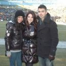 Jashley and Jessica Szohr at Green Bay