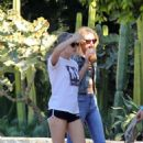 Kristen Stewart and Stella Maxwell out and about in Los Angeles