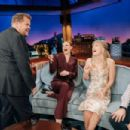 Melissa Benoist – On 'The Late Late Show With James Corden' in LA