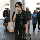 Megan Fox – Arrives at LAX Airport in Los Angeles