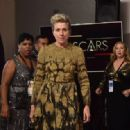 Frances McDormand At The 90th Annual Academy Awards - Press Room (2018) - 454 x 317