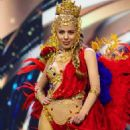Sara Duque- Miss Grand International 2020 Preliminaries- National Costume Competition