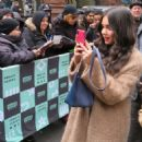 Geraldine Viswanathan – Arrives at AOL Build Series in New York