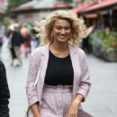 Tori Kelly – Arrives at Global Offices in London