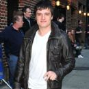 Josh Hutcherson Stops By The Letterman Show