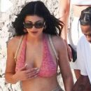 Kylie Jenner – Out and about in Nerano