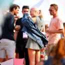 Pixie Lott Arrives at House Festival in London - 454 x 498