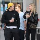 Nicola Peltz and Brooklyn Beckham – Shopping for jewelry at XIV Karats LTD in Beverly Hills