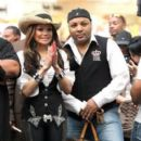 LaToya Jackson and Jeffre Phillips - 391 x 595