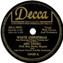Bing Crosby - White Christmas / Let's Start The New Year Right