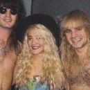 Heidi Richman with Joey Allen and Jerry Dixon from Warrant