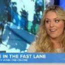 Lindsey Vonn in New York for an appearance on Today with Matt Lauer, - 454 x 223