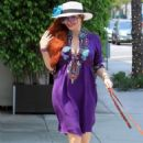 Phoebe Price – Shopping with her dog in Beverly Hills - 454 x 681