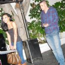 Naya Rivera and Mark Salling