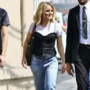 Kristen Bell – Arriving at Jimmy Kimmel Live! in LA