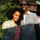 Teyana Taylor and Chad Johnson
