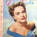 Terry Moore - Geino Gaho Magazine Pictorial [Japan] (January 1955) - 454 x 650