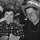 George Stevens and Yvonne Howell