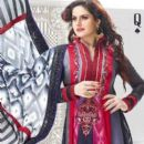 Zarine Khan In Anarkali New Photo Shoot For A New Collection Of 2013 - 396 x 457