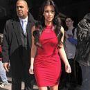 "Kim Kardashian is Red Hot at ""Good Day New York"""