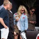 Jessica Simpson's Mother's Day with the Future In-Laws