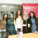 Lara Scandar - About A Girl - Signing in Egypt - 454 x 303