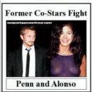 Sean Penn and Maria Alonso  -  Wallpaper - 380 x 389