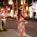 Daphne Joy Night Out In Beverly Hills