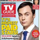 Jim Parsons, The Big Bang Theory - TV Guide Magazine Cover [United States] (26 August 2013)