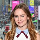 Britt Robertson at Extra Studios in New York City - 454 x 681